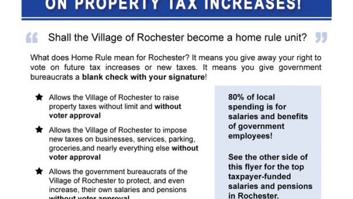 Village of Rochester to Vote on Home Rule March 18