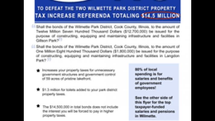 $1.3 Million Toilets for Wilmette Park Empire
