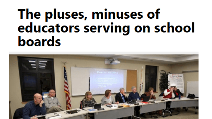 Daily Herald   The pluses, minuses of educators serving on school boards