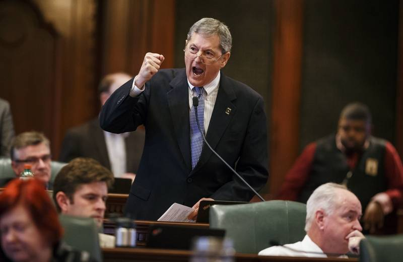Bombastic Taxpayer Traitor St. Rep. David Harris Won't Run For Reelection After Exposure By TUA