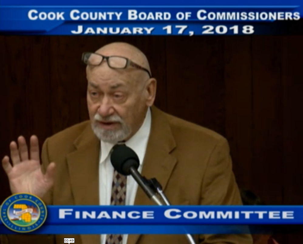 Taxpayers Call For Cook County Pension Reform