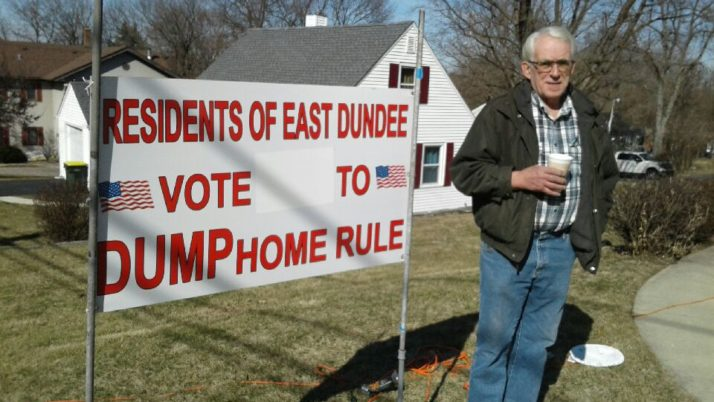 Local Taxpayer Takes a Stand Against Home Rule
