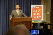 TAXPAYERS SUPPORT REPEAL OF MOTOR FUEL TAX PROPOSED BY ST. REP. ALLEN SKILLICORN