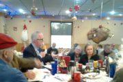 Jim Tobin Warmly Welcomed At  The Ronald Reagan Breakfast Club