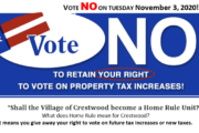 Taxpayers Fight Home Rule Push in Crestwood