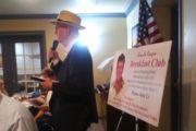 Jim Tobin At The Ronald Reagan Breakfast Club